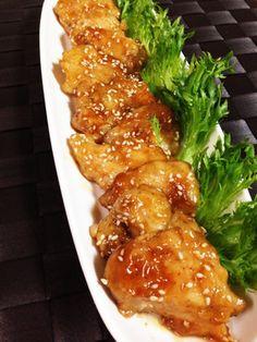簡単に鶏むね肉のやわらか照り焼きチキン
