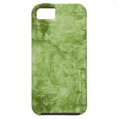 Abstract Green Texture iPhone 5 Case