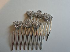 Weddings Bridal  Accessories  Hair Combs & by ThingsOfGreatBeauty