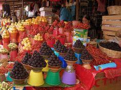 Mercadillo en San Cristobal de las Casas - Chiapas Mexico