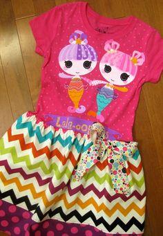 Lalaoopsie Lalaloopsy Dress Upcycled Shirt by MadiBethCreations, $31.50