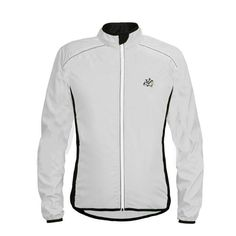 52fda18ef Reflective Breathable Ultra-Light Jacket Rainproof Windcoat Bicycle Jersey