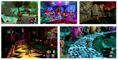 From Ben Hardgrave's 2013 Baptism Board: Psychonauts is loosely Inception, but released a half-decade earlier. The game has you entering the mind-scapes of friend and foe alike, each mind presenting a varied and visually distinct world. From a twisted & world suburban landscape in the mind of a crazy conspiracy nut to a world painted as if it were a black velvet painting in the mind of a Spanish Conquistador. The sheer creative variety of art styles in the game were enough to captivate me.