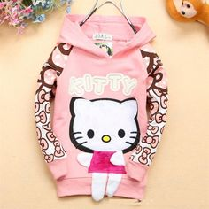 Nice NEW cartoon clothes baby girls sweater T shirt 100% cotton sweater girls clothing hoodie free shipping - $19.8 - Buy it Now!