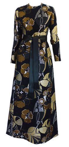 Dress Gustave Tassel, 1960s 1stdibs.com