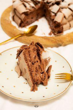 Desserts Français, Delicious Desserts, Concorde, Cake & Co, Pavlova, Culinary Arts, Food Hacks, Food Dishes, Cake Recipes