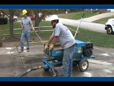 Mudjack Pump, Concrete Lifting, Concrete Leveling, AIRPLACO mudjack pump...