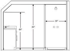 Sloped Ceiling Height For Bathroom Fixtures Bathroom In