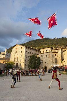 Gubbio.... province of Perugia , Umbria region Italy