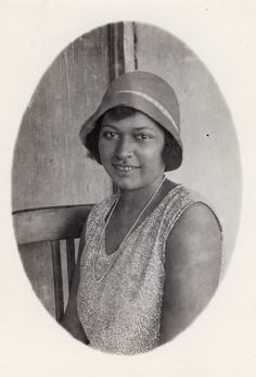 Héléne Adam, fille de Chausiku Nyembo Malilo et Auguste Adam.