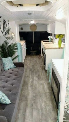 The Glamping Bus by Skoolie Homes