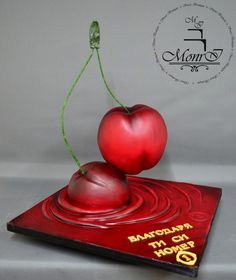 Cherry Cake by Mina Avramova