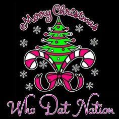 Merry Christmas Who Dat Nation Christmas Program, Christmas Svg, Christmas Projects, Christmas Greetings, Christmas Holidays, Christmas Decorations, Christmas Ornaments, Christmas Meals, Christmas Canvas