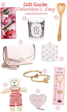 Gift Guide: Valentine's Day Gifts for Her from LaurenConrad.com