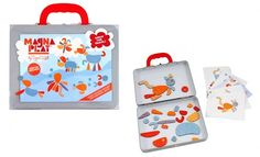 Tiger Tribe Magnetic Play set