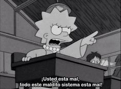 """captain-snow-bug: """" swallowbitchpeoplearestarving: """" swallowbitchpeoplearestarving: """" we don't just need feminism, we need lisa simpson feminism """" """" The best part about the Simpsons was it was written. Simpsons Frases, Simpsons Quotes, Cartoon Quotes, The Simpsons Tumblr, Simpsons Funny, Lisa Simpson, Winter Funny, Cartoon Network, Simpson Tumblr"""