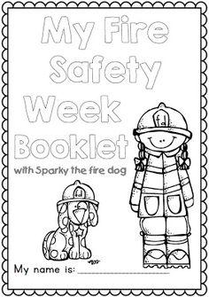 fire prevention week coloring pages teacherspayteachers com ed