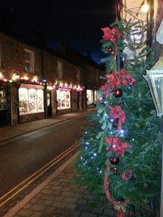 Christmas at Corbridge True North, Newcastle, Christmas Tree, Holiday Decor, Home Decor, Teal Christmas Tree, Holiday Tree, Xmas Tree, Interior Design