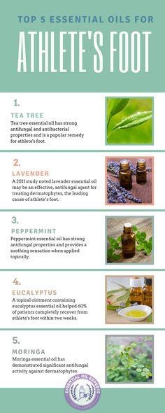 essential oils for athlete's foot, athletes foot cure