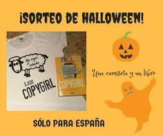 ¡Gana un ejemplar y una camiseta de 'COPYGIRL', de Anna Mitchael y Michelle Sassa, participando en nuestro SORTEO DE HALLOWEEN!