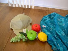 Step by step how to make Chiquita banana hat with dollar store supplies.