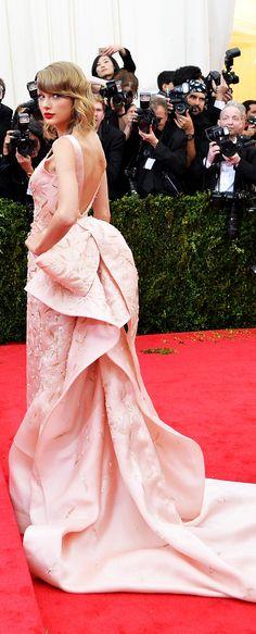 Taylor Swift Met Ball 2014 Oscar De la Renta