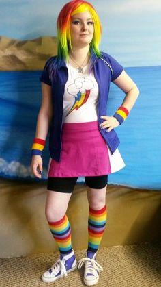 Rainbow Dash Equestria Girls Cosplay by chubbythecat