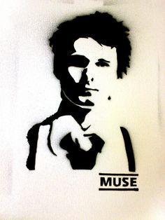 Matt Bellamy - Stencil