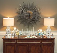 Holiday Decor for Hanukkah on a Budget - St Louis AT HOME - November-December 2012 - St. Louis, Missouri - styled by Trenna Travis