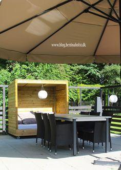 Lav dit eget shelter på hjul - Bettina Holst Blog Backyard For Kids, Outdoor Furniture Sets, Outdoor Decor, Gardening Tips, Shelter, Diy And Crafts, Projects To Try, Blog, Gardens