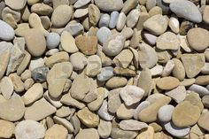Rounded stones background
