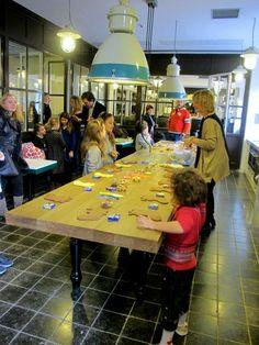 Porto Fluviale - Roma con i bambini ristoranti, negozi, ludoteche, eventi per bambini raccomandati da Roma Family Welcome