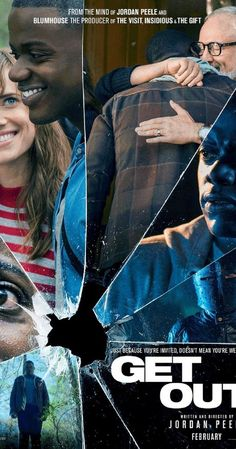 Directed by Jordan Peele.  With Daniel Kaluuya, Allison Williams, Bradley Whitford, Catherine Keener. A young African-American man visits his Caucasian girlfriend's mysterious family estate.