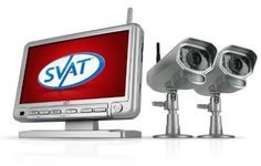 "SVAT GX301-011 Digital Wireless DVR Security System with 7"" LCD Monitor, SD Card Recording and 2 Long Range Night Vision Surveillance Cameras by SVAT. $299.99. SVAT's GIGAXTREME 301 system can be used to monitor and record video and audio in any indoor or outdoor space at any time of the day.   Digital Wireless Technology The GigaXtreme 301-Series comes equipped with Digital Wireless Technology that ensures there is no messy wiring involved when setting the system up.  2 Way Int..."