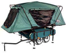 Catnap-Ready Cycle Tows : midget bushtrekka bike trailer
