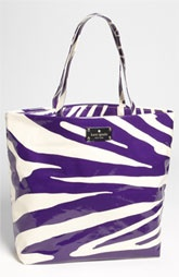 kate spade new york 'daycation' coated canvas bon shopper