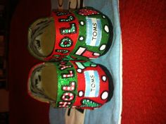 Christmas Toms by:  Karen Laughlin
