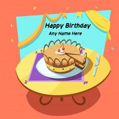 Buy Bakery Cartoon Illustration by macrovector on GraphicRiver. Bakery cartoon with sweet holiday layered cake on table retro style vector illustration. Editable EPS and Render in J. Birthday Wishes With Name, Happy Birthday Wishes Cake, Happy Birthday Cake Images, Greeting Card Maker, Online Greeting Cards, Birthday Greeting Cards, Happy Birthday Cake Writing, Cake Image Free, Retro Birthday