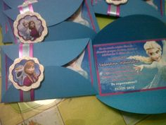 INVITACIONES FROZEN Frozen Invitations, Frozen Princess, Diy Projects To Try, Birthday Decorations, Birthdays, Birthday Parties, Baby Shower, Frame, Party