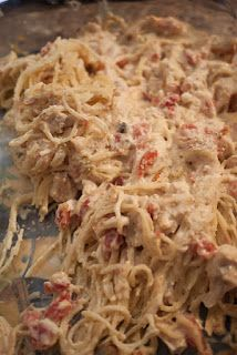 The Stoker Kitchen: {wednesday weekly meal} Chicken Spaghetti Casserole