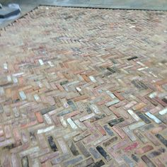 Herringbone Patio (by New Eco) Love The Color Variation