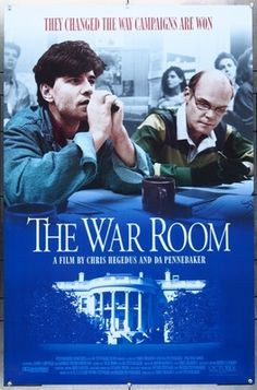 Original  movie poster for WAR ROOM, THE (1993) 7182 Original October Films One Sheet Poster (27x41). Rolled. Very Fine Plus Condition. Offered by Kirby McDaniel MovieArt of Austin, Texas.