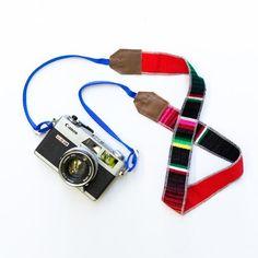 Viajero Camera Strap - Rojo | LBLAxTK + Gunn & Swain Collaboration | Gunn & Swain