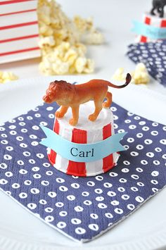 by Kathleen Ballos Have you hosted a circus themed party yet? In case you haven't noticed, Oh...