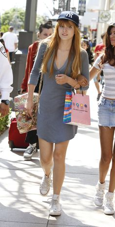 Bella takes a cue from the boys! http://www.twistmagazine.com/2013/04/bella-thorne-street-style.html