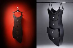 """The """"Little Black Dresser,"""" designed by Judson Belle of Straight Line Designs Inc.- i want one!!"""