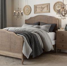 Restoration Hardware Lorraine Caned Bed