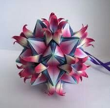 Modular Origami 3d Paper Crafts Leaf Flowers Stars Folding