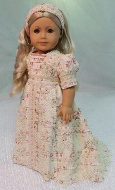 MHD Designs - Netherfield - Fashion Pattern for 18 Inch American Girl Dolls
