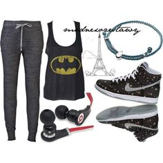 hip hop outfit... Love the shirt and shoes the best:-)